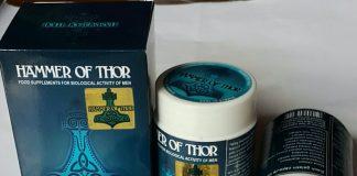 Hammer of Thor pastile