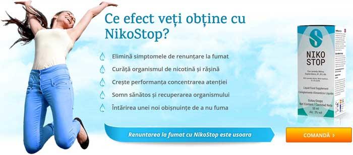 nikostop efectele folosirii