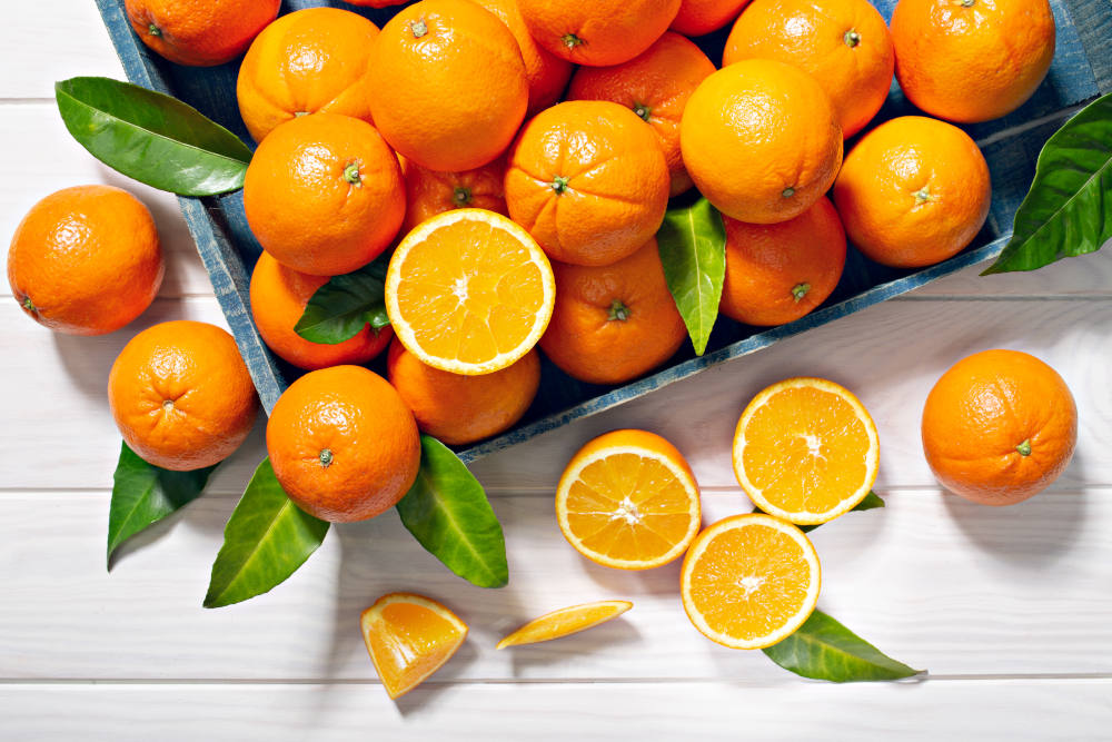 portocale proaspete